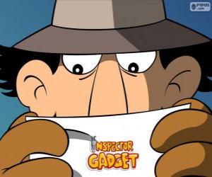 Układanka Inspektor Gadżet czyta misję