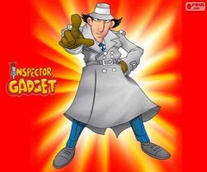 Układanka Inspektor Gadżet jest ubrana jak słynny Inspektor Closeau