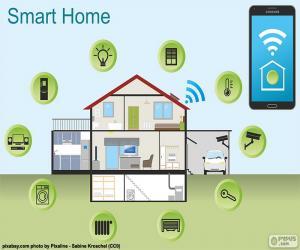 Układanka Inteligentny dom
