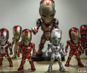 Układanka Iron Man figury