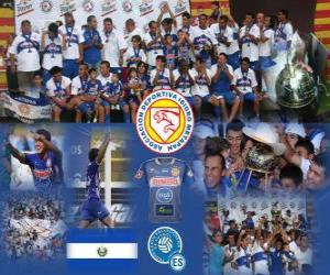 Układanka Isidro AD Metapan Champion Apertura 2010 (El Salvador)