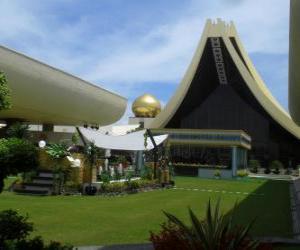 Układanka Istana Nurul Iman, Brunei