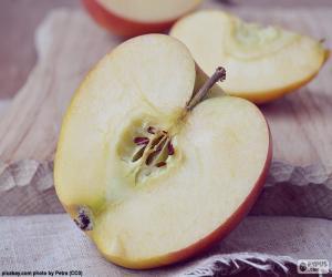 Układanka Jabłko