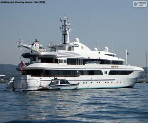 Układanka Jacht Lady Marin