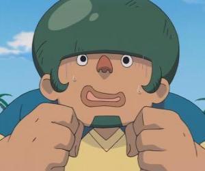 Układanka Jack Wallside lub Heigoro Kabeyama jest duży i nieśmiała obrońca Raimon Eleven