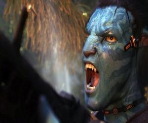 Układanka Jake krzyczeć na'vi avatar