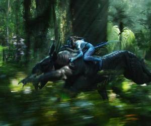 Układanka Jake miłośników skrzydlatych bestii znanych jako toruk, najbardziej niebezpiecznych stworzeniem Pandora.