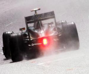 Układanka Jarno Trulli - Lotus - Spa-Francorchamps 2010