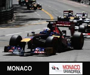 Układanka Jean-Eric Vergne - Toro Rosso - Monte-Carlo 2013
