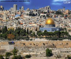 Układanka Jerozolima, Izrael