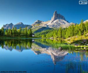 Układanka Jezioro Federa, Włochy