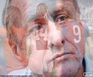 Układanka Johan Cruyff (1947-2016)