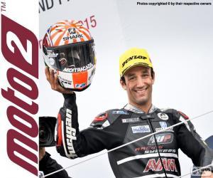 Układanka Johann Zarco, Moto2 2015