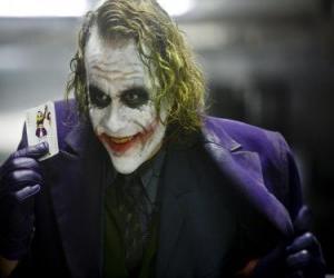 Układanka Joker jest największym wrogiem Batmana i jednym z najbardziej popularnych złoczyńców