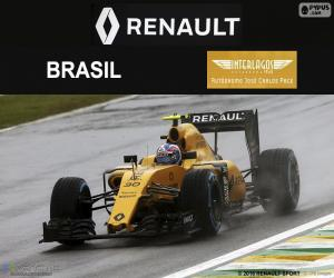 Układanka Jolyon Palmer, Grand Prix Brazylii 2016