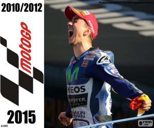 Układanka Jorge Lorenzo, MotoGP 2015