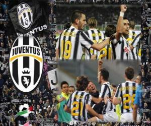 Układanka Joventus, włoski Football League mistrz - Lega Calcio 2011-12