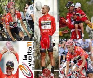 Układanka Juanjo Cobo (GEOX) mistrzem Tour of Spain 2011