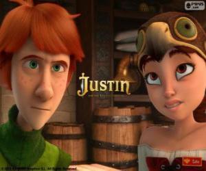 Układanka Justin i Talia