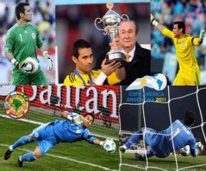 Układanka Justo Villar najlepszym bramkarzem Copa America 2011