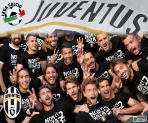 Układanka Juventus mistrz 2013-20014