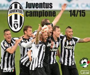 Układanka Juventus mistrz 2014-20015