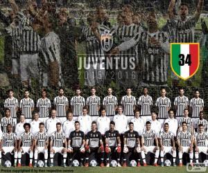 Układanka Juventus mistrz 2015 – 20016