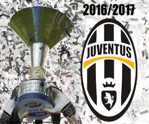 Układanka Juventus, mistrz 2016-2017
