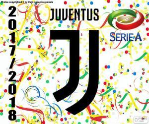 Układanka Juventus, mistrz 2017-2018