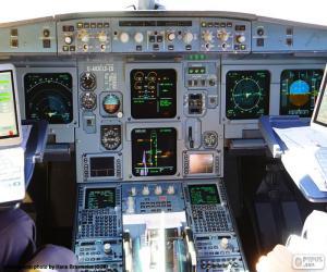 Układanka Kabiny samolotów