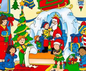 Układanka Kajtuś Boże Narodzenie