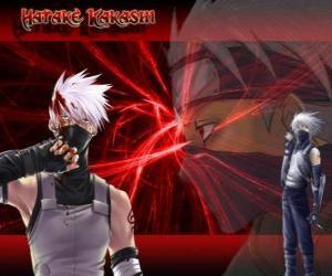 Układanka Kakashi Hatake, mistrz ninja