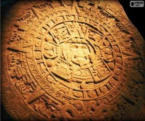 Układanka Kalendarz Majów