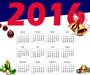 Układanka Kalendarz na sezon 2016