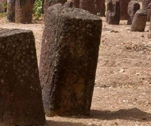 Układanka Kamienne kręgi Senegambii, Senegalu i Gambii
