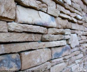 Układanka Kamienny mur