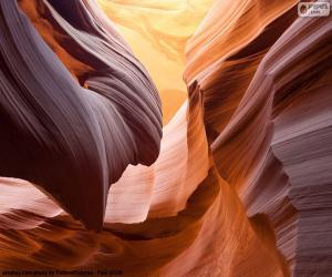 Układanka Kanion Antylopy, Stany Zjednoczone