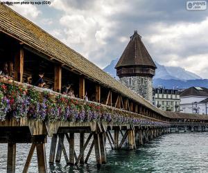 Układanka Kapellbrücke, Szwajcaria