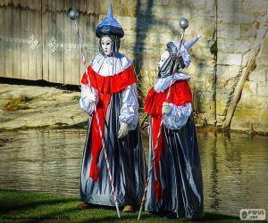 Układanka Karnawał Venice