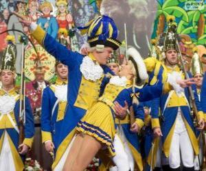 Układanka Karnawał w Kolonii, Niemcy