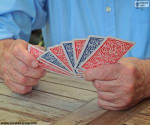 Układanka Karty do gry