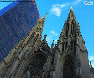 Układanka Katedra św. Patryka, Nowy Jork