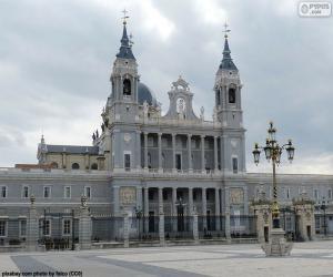 Układanka Katedra Almudena w Madrycie