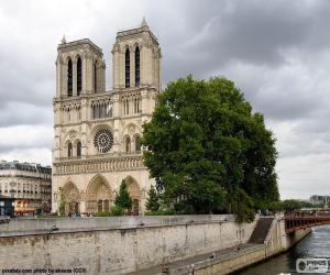 Układanka Katedra Notre-Dame, Paryż