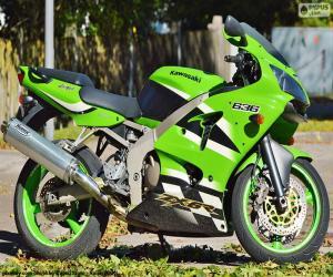 Układanka Kawasaki Ninja ZX-6R (2002)