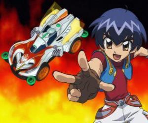 Układanka Kazuya uruchamianie samochodów w wyścigu