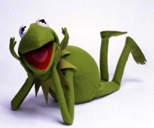 Układanka Kermit Żaba