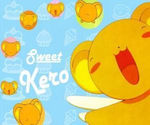 Układanka Keroberos lub Kero jest wyznaczonego kuratora książki, która posiada Clow Cards