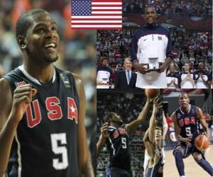 Układanka Kevin Durant MVP w 2010 FIBA World Championship