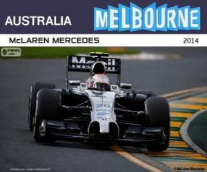 Układanka Kevin Magnussen - 2 ° McLaren - Grand Prix Australii 2014, sklasyfikowanych